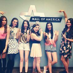 Christina is 24, Katherine is 23, Lisa is 21 Amy is 19, Lauren is 16, And  Dani…