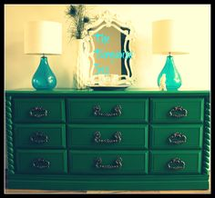 emerald green furniture -