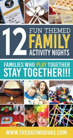 Activities for the Whole Family - from The Dating Divas Have fun this winter with INDOOR Activities for the Whole Family.Have fun this winter with INDOOR Activities for the Whole Family. Family Fun Games, Family Movie Night, Family Movies, All Family, Family Bonding, Family Meeting, Family Fun Day, Activities For Adults, Indoor Family Activities