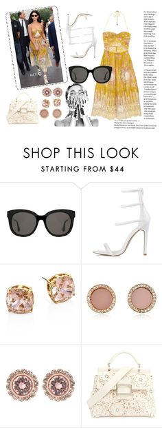 """""""Hottest NYFW Runway Trend"""" by jojolol-1 ❤ liked on Polyvore featuring Zimmermann, Gentle Monster, Tory Burch, Michael Kors, Ted Baker and Roger Vivier"""