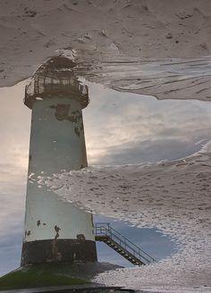 *Talacre Lighthouse Reflection