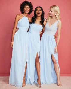 d30f9e95e5f Davids Bridal Bridesmaid Dresses  weddings  dresses  bridesmaids   bridesmaiddresses Blue Bridesmaid Dresses
