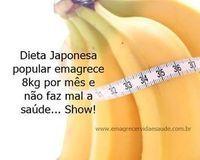 A dieta da banana é de origem japonesa, muito popular em todo o mundo, feita a base de banana e agua, ela emagrece rapidamente sem prejudicar a saúde.