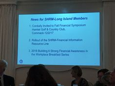 Financial Information, Recent Events, Human Resources, Workplace