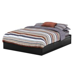 Target, $300. Pasadena bed frame with storage (queen size bed frame with two drawers, pair with Pasadena headboard)