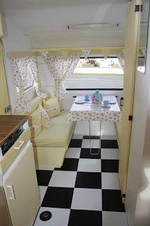 "Polly Dolly Vintage: ""Lotte"" the Vintage Caravan"