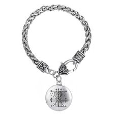Find More Chain & Link Bracelets Information about Maman Brigitte Voodoo Loa Veve Pendant Money Talisman Wealth Amulet Jewelry Gothic Clasps For Bracelets For Friends,High Quality for bracelets,China bracelet amulet Suppliers, Cheap gothic bracelet from Talisman Jewelry Factory on Aliexpress.com