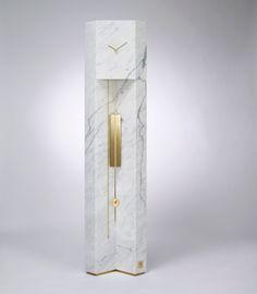 #Milantrace2017 Lee Broom Time Machine Grandfather Clock Photo Arthur Woodcroft | http://www.yellowtrace.com.au/milan-design-week-salone-del-mobile-2017-preview/