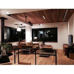 男性で、3LDKのtruckfurniture/SLOW LIFE STYLE/薪ストーブ…などについてのインテリア実例を紹介。(この写真は 2016-08-03 21:52:32 に共有されました) Acme Furniture, York Apartment, Home Studio, Home Living Room, Architecture, Wood Interiors, Japanese House, Drawing Room, Home Art