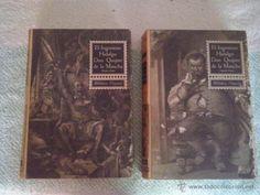 EL INGENIOSO HIDALGO DON QUIJOTE DE LA MANCHA 2 VOLUMENES 1963