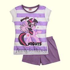 My Little Pony Purple S/S Pyjamas