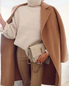 Classy Outfits, Chic Outfits, Trendy Outfits, Fall Outfits, Fashion Outfits, Beige Outfit, Outfit Invierno, Elegant Outfit, Everyday Outfits