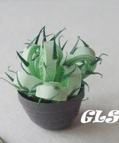 GLS2007: Квиллинг-кактусы