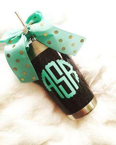 Glitter Yeti Rambler in Black would be cool. But honestly, I just want a 30 oz Yeti Rambler Tumbler....