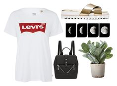 """""""<3"""" by valiii ❤ liked on Polyvore featuring Kenzo, Levi's and Torre & Tagus"""