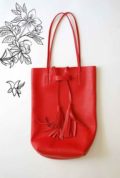 tomei bag in red from cocomomo
