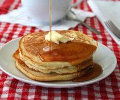 Light and Fluffy Coconut Flour Pancakes | FaveGlutenFreeRecipes.com