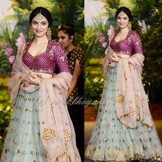 Style tips and OOTS inspiration to nail the perfect Indian Bridesmaid looks for 2018 Bridal Lehenga Choli, Indian Lehenga, Pakistani Bridal Dresses, Indian Dresses, Indian Wedding Outfits, Bridal Outfits, Indian Outfits, Ethnic Outfits, Indian Clothes