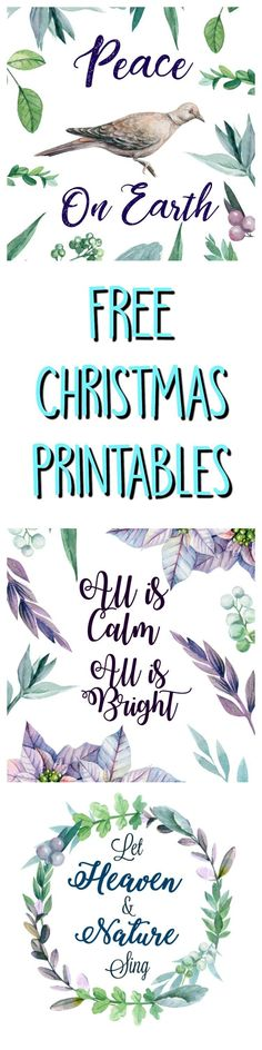 Hey Gnomies, My last batch of printables was such a big hit that I decided to create more! These three new holiday prints were made with clip art that I got from Creative Market. The artist of the watercolor graphics is Gringoann . Instead of the usual red green and white Christmas colors these are …