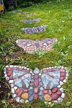 Butterfly Stepping Stones