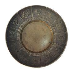 Vintage Chinese Zodiac Brass Dish on Chairish.com