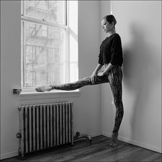 #Ballerina - @pddprincess #ballerinaproject_ #ballerinaproject #ballet #newyorkcity #window #eastvillage by ballerinaproject_