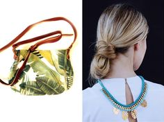Lovely local finds - Sling bag by Soil Design, jewellery by Henriette Botha Discover more on http://lanaloustyle.com