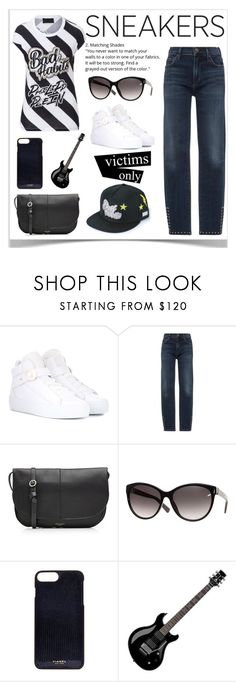 """""""Sneakers"""" by sukia ❤ liked on Polyvore featuring Nicholas Kirkwood, Citizens of Humanity, Nina Ricci, Vianel and Floyd"""