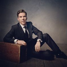 Benedict Cumberbatch. Photo by Mark Seliger for VF Oscar Party 2014.