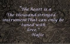 Hafiz/Hafez Quotes | The Bohemian Blank