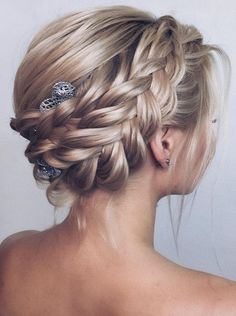 Best Braided Hairstyles Ideas to Inspire You Best Braided Hai. - Best Braided Hairstyles Ideas to Inspire You Best Braided Hairstyles Ideas. Cool Braid Hairstyles, Wedding Hairstyles For Long Hair, Hairstyle Ideas, Bridal Hairstyles, Hair Wedding, Black Hairstyles, Pretty Hairstyles, Blonde Hair Extensions, Hair Color Balayage