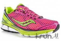 Saucony PowerGrid Triumph 10 W pas cher - Chaussures running femme running Route & chemin en promo