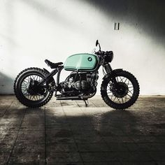 Move fast and break things. If you aren't breaking things then you aren't moving fast enough 💨 • #CRD105 by @caferacerdreams #motorcycle…