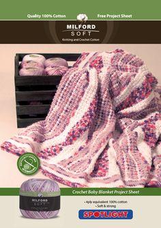 Crochet Baby Blanket - Project - Spotlight Australia