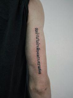 #leeonink #cnx #thailand #minimal #tattoo #ink #blackwork #quotes #fonts