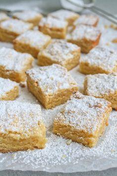 Almond tart.