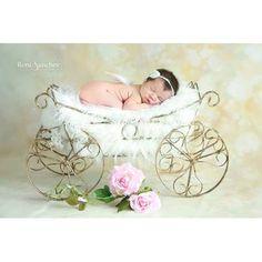 Carruagem Acessórios Fotografia Newborn Aberta (oe) - R$ 141,90 no MercadoLivre
