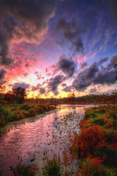 Autumn Day's End ~ Indiana by oldrose