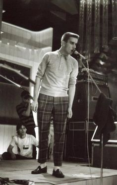 Terry. Always dressed to impress. Terry Hall.