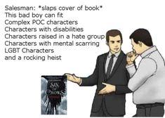 six of crows Geeks, Shadow Bone, Good Books, Books To Read, Crooked Kingdom, The Darkling, The Grisha Trilogy, Tribute, Leigh Bardugo