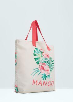 Mintás táska | MANGO