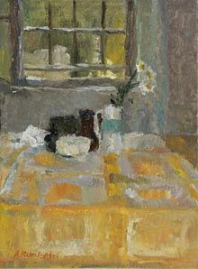 Alice Mumford' English studied at Camberwell School of Art