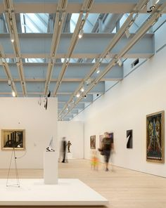 Inside the New Whitney Museum in NYC