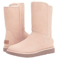 UGG Abree Short II (Canvas) Women's Shoes ($250) ❤ liked on Polyvore