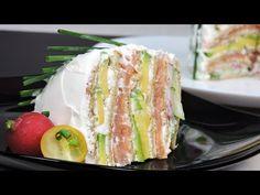 Pastel de sándwich (pastel salado sin horno)