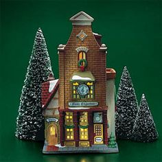 """Department 56: Products - """"Music Emporium"""" - View Lighted Buildings"""