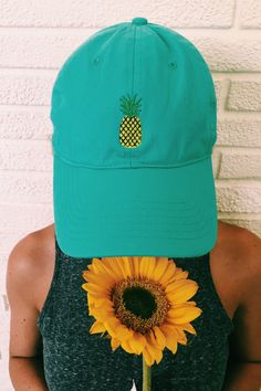 Pineapple Hat by on Etsy Pen Pineapple Apple Pen, Pineapple Hat, Pineapple Clothes, Botanical Fashion, Monogram Styles, Caps Hats, Chuck Taylors, What To Wear, My Etsy Shop