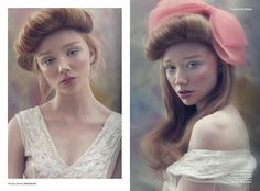 Photographed by Sarah Monrose Makeup / Ioannis Tsangaris Hair / Tim Scott-Wright // The Hair Surgery Stylist / Adelaide Turnbull Stylist Assistant / Hannah Blurton