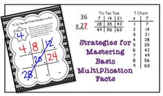 Developing automaticity with multiplication doesn't have to be painful!  These strategies work!