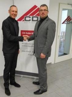 Kooperationsvereinbarung mit Heiko Kübler vom CDH Baden-Württemberg